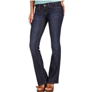 Lucky Brand Zoe Dark Wash Mid Rise Boot Cut Jeans